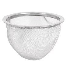 Металлический бытовой фильтр для чайных листьев чайник фильтр, диаметр 70 мм
