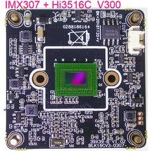 H.265 2MP , 3MP 1/2.8 instrukcji obsługi SONY STARVIS IMX307 CMOS przetwornik obrazu + Hi3516C V300 kamera IP CCTV płytka drukowana moduł (opcjonalnie części)