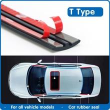 شريط مطاطي لحماية الزجاج الأمامي للسيارة ، عازل للصوت لسقف السيارة ، ملحقات السيارة