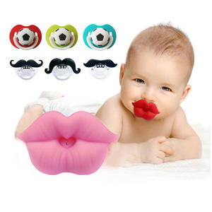 Nozzl Pacifier-Clips Nipples-Bottle Prank Funny Baby Toddler Newborn Infant Silicone