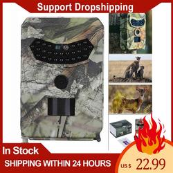 1080P 12MP Hunting Trail Camera Infrared Night Vision Scouting Camera for Wildlife Hunting Monitoring and Farm Security