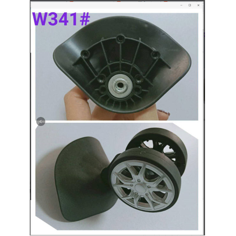 Luggage Accessories Casters Color Mute Wheel Trolley Case Universal Wheels Replacement Luggage Wheel Repair Suitcase Mute Wheel
