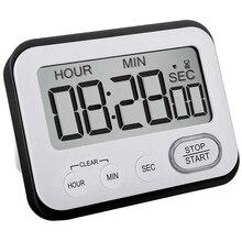 Clock Kitchen Stopwatch Classroom-Counter Netic-Clip Digital Countdown-Timer:teachers