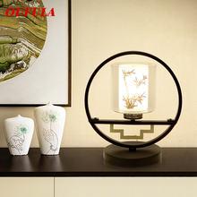 Настольная лампа dlmh светильник современный офисный креативный