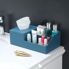 Storage-Decoration Organiser Desktop-Storage-Box Nordic-Style Multifunction Tissue Grid-Design