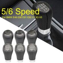 5 6速ギアシフトノブ自動シフターbmw 1 3 5 6シリーズE39 E46 E53 E60 E61 E63 E81 E82 E83 E87 E90 E91 E92 X1 X3 X5