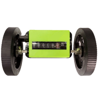 Durable Length Meter Textile Correct Count Mechanical Rolling Wheel Portable Counter