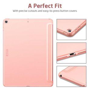 """Image 2 - ESR Cao Su Phủ Dành Cho iPad 7 2019 Bật Lại Slim Smart Ốp Lưng TPU Dẻo Trong Cho iPad 7th Gen 10.2"""""""