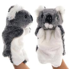 Красивая коала животных плюшевая ручная перчатка кукольная ролевая игра для кукольного театра Детские игрушки Обучающие Детские игрушки новинка