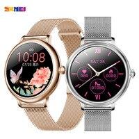 SKMEI CF80 schermo intero Touch Smartwatch da donna periodo mestruale femminile cardiofrequenzimetro orologio intelligente da donna per Android IOS