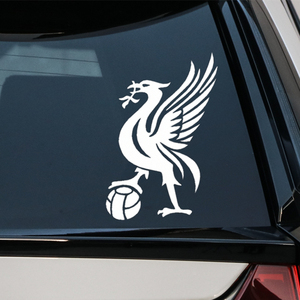 Liverpool Kop Car Stickers Creative Decoration Decals For Windshield Auto Tuning Styling D30(China)