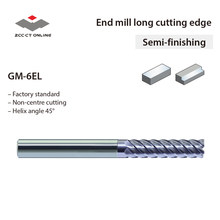 1 Pc Asli Zcc Akhir Pabrik GM-6EL-D20.0 20 Mm Diameter 6 Seruling Rata Milling Cutter(China)
