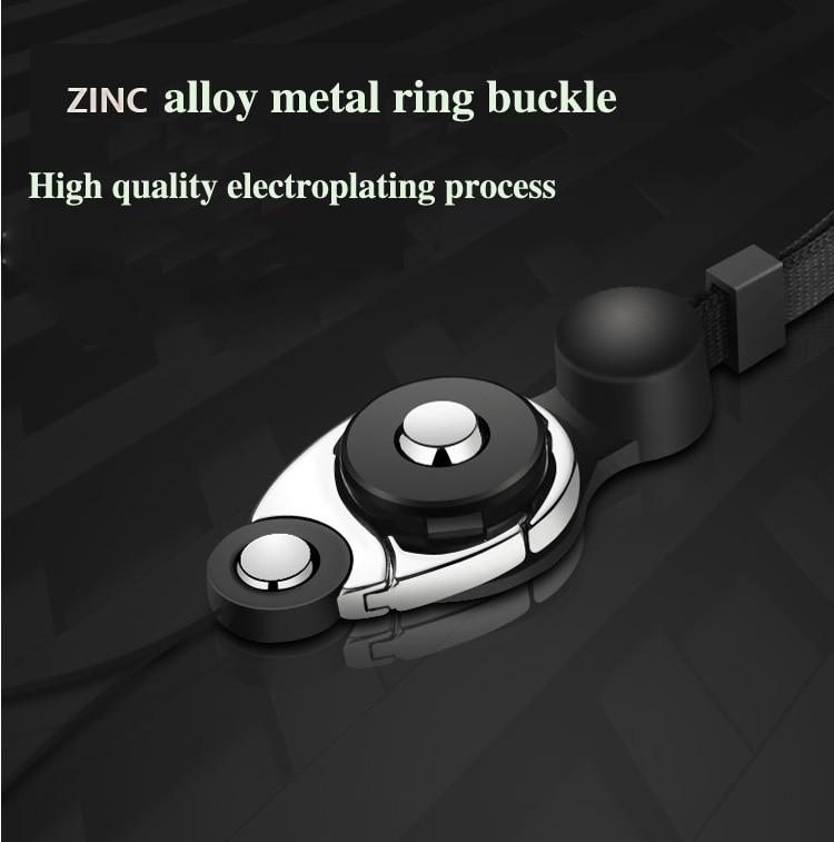 LIDABAO Detachable Anti-Dropping Universal Phone Lanyard 1//2//4 Pieces Cell Phone Neck Lanyard Crossbody Neck Strap