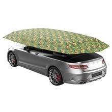 4,5x2,3 м новые уличные автомобильные палатки, автомобильные зонты, козырьки от солнца, полиэфирные чехлы из ткани Оксфорд без кронштейна, камуфляжные