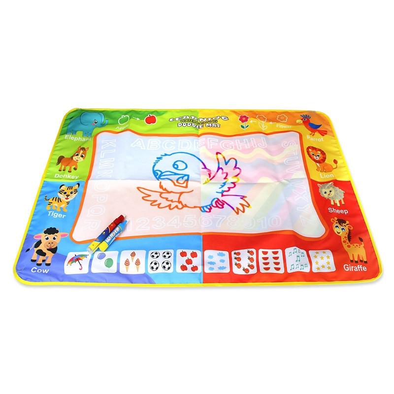 2379 Children'S Educational Toy Magic Rainbow Water Canvas Magic Shui Hua Tan Graffiti Painted Doing Homework Blanket 86*56