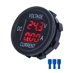 Image 5 - Universal DC 9V to 48V 10A Digital Voltmeter Ammeter Voltage Current Meter Measurement LED Display For 12V 24V 36V Electric bike