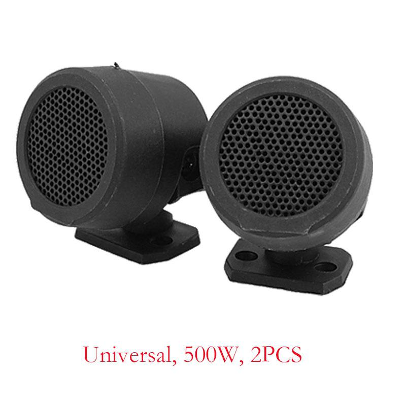 Dragonpad 2PCS 500W Pre-Wired Tweeter Speakers Car Audio System