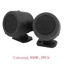 2PCS 500W Pre-Wired Tweeter Speakers Car Audio System Active Subwoofer Woofer Cars