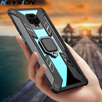 KEYSION Shockproof Case for Xiaomi Mi A3 Note 10 Pro 9T Mi 9 Lite CC9 F2 Pro Phone Cover for Redmi Note 8 9 Pro Max 8T 7 K30 K20 1