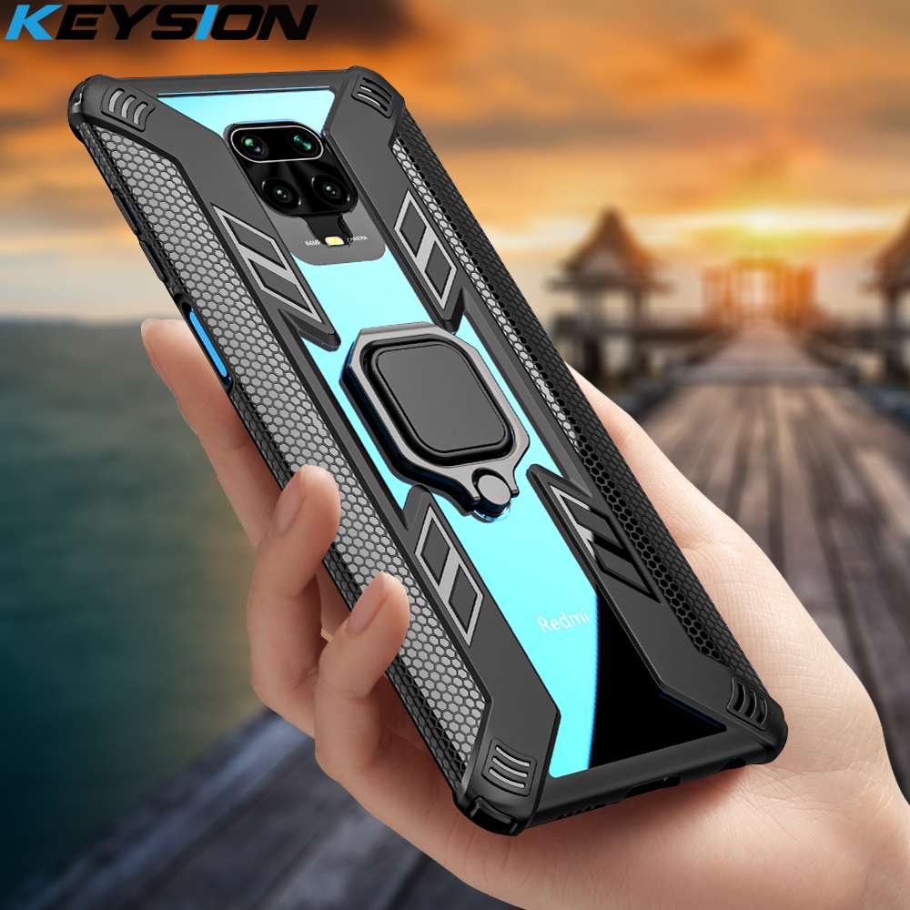 KEYSION Shockproof Case for Xiaomi Mi A3 Note 10 Pro 9T Mi 9 Lite CC9 F2 Pro Phone Cover for Redmi Note 8 9 Pro Max 8T 7 K30 K20(China)