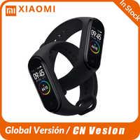 Original Xiao mi mi Band 4 Smart Armband Voller Farbe Bildschirm mi band 4 mi 4 Smartband Fitness Traker Bluetooth wasserdicht Smart Band