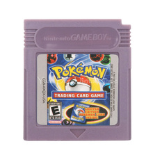 For Nintendo GBC Video Game Cartridge Console Card Poke Series Trading Card English Language Version