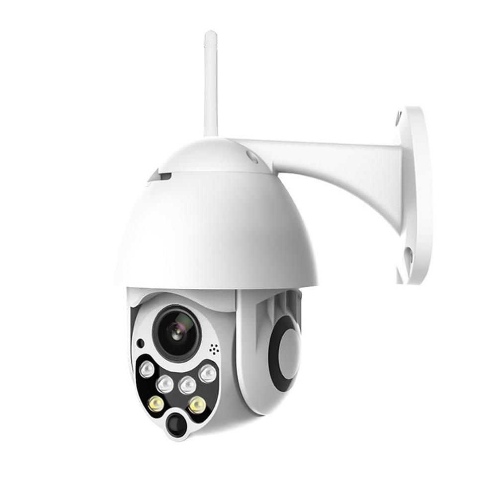 Auto Tracking Outdoor PTZ IP Camera 1080P Speed Dome Surveillance Cameras Waterproof Wireless WiFi Security CCTV Camera image