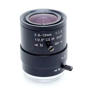 """Image 3 - 3MP HD 2.8 12 ミリメートル cctv レンズ Cs マウント手動焦点 IR 1/2。 7 """"1:1。 4 のためのセキュリティ IP カメラ"""