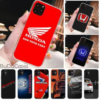 Honda Racing Car Logo Brand Phone Case For IPhone 11 12 Pro XS MAX 8 7 6 6S Plus X 5S SE 2020 XR Cover image