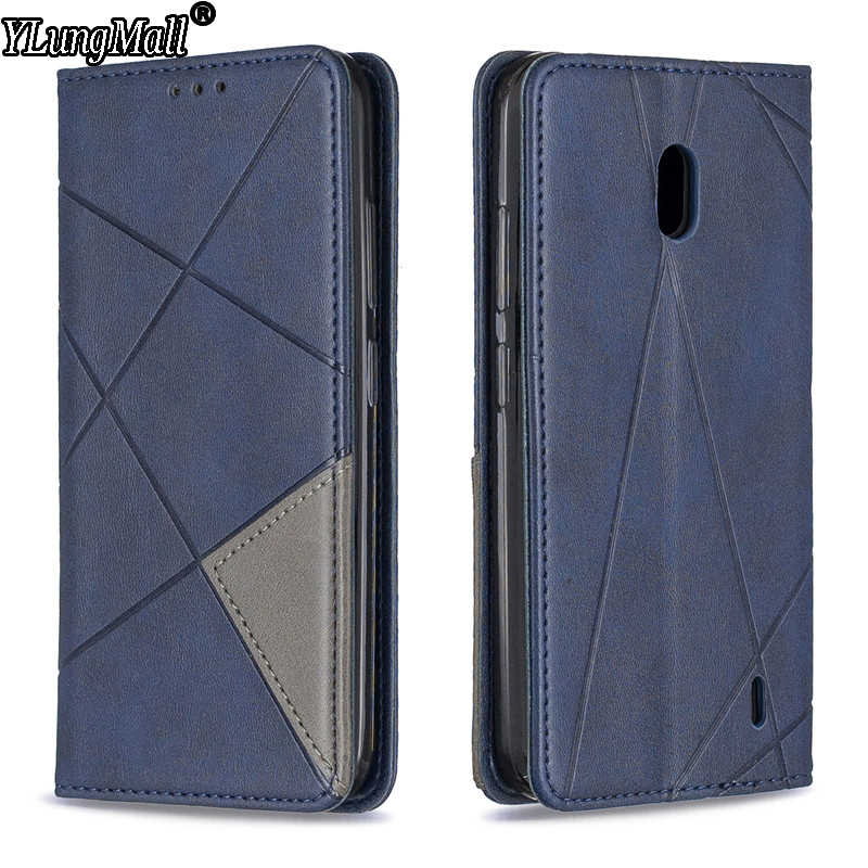 Luxury Flip Leather Phone Case on for Funda Nokia 2.2 3.2 4.2 1 Plus Magnetic Wallet Card Slots Kickstand Phone Case Cover Coque
