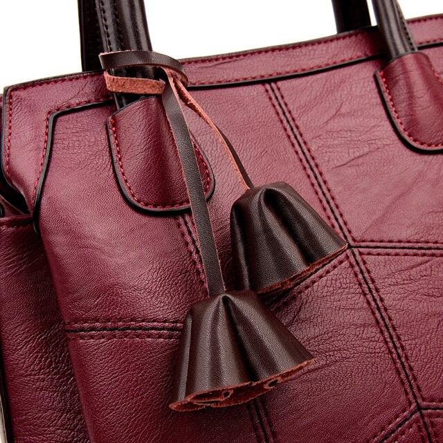 Classic Vintage Leather Handbag 4