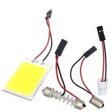 T10 C5W Auto Led Cob 18 24 36 48SMD Wit Parking Lamp Auto Interieur Reading Panel Lamp Super Heldere Festoen kentekenverlichting