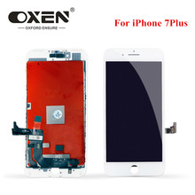 OXEN AAA+++ for iPhone 7 7 Plus 7plus LCD With 3D Touch Screen Digitizer Assembly Replacement Display No Dead Pixel Free Tools