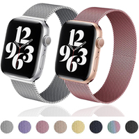 Strap Für Apple uhr band 44mm 40mm iWatch Band 38m/42mm metall Magnetische Schleife correa zubehör armband Apple uhr 5 4 3 SE 6