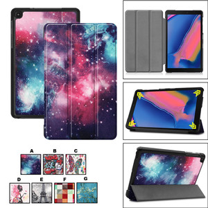Mosunx Ultra Slim Case For Samsung Galaxy Tab A 8.0 2019 P205/P200 Leather Stand Case Cover For Samsung Galaxy Tab A 726#2