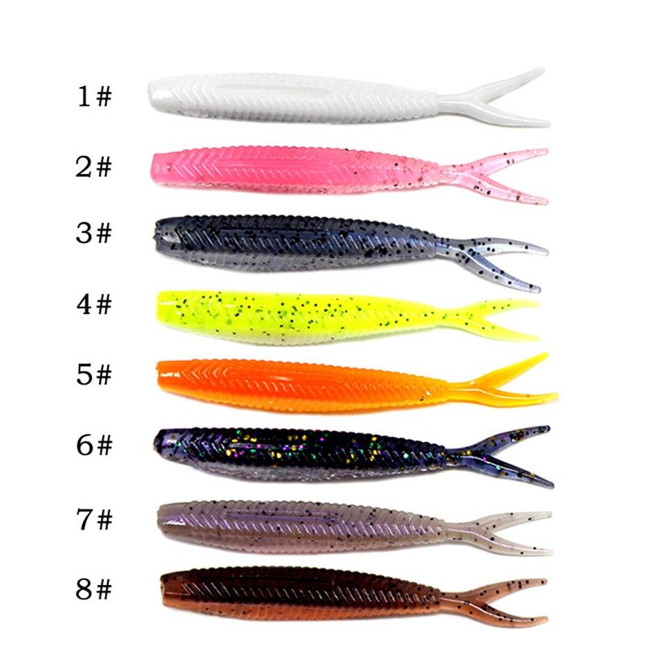 Lure Silicone Fishing Bait Easy Shiner Worm Wobblers Minnow Lure Carp Fishing