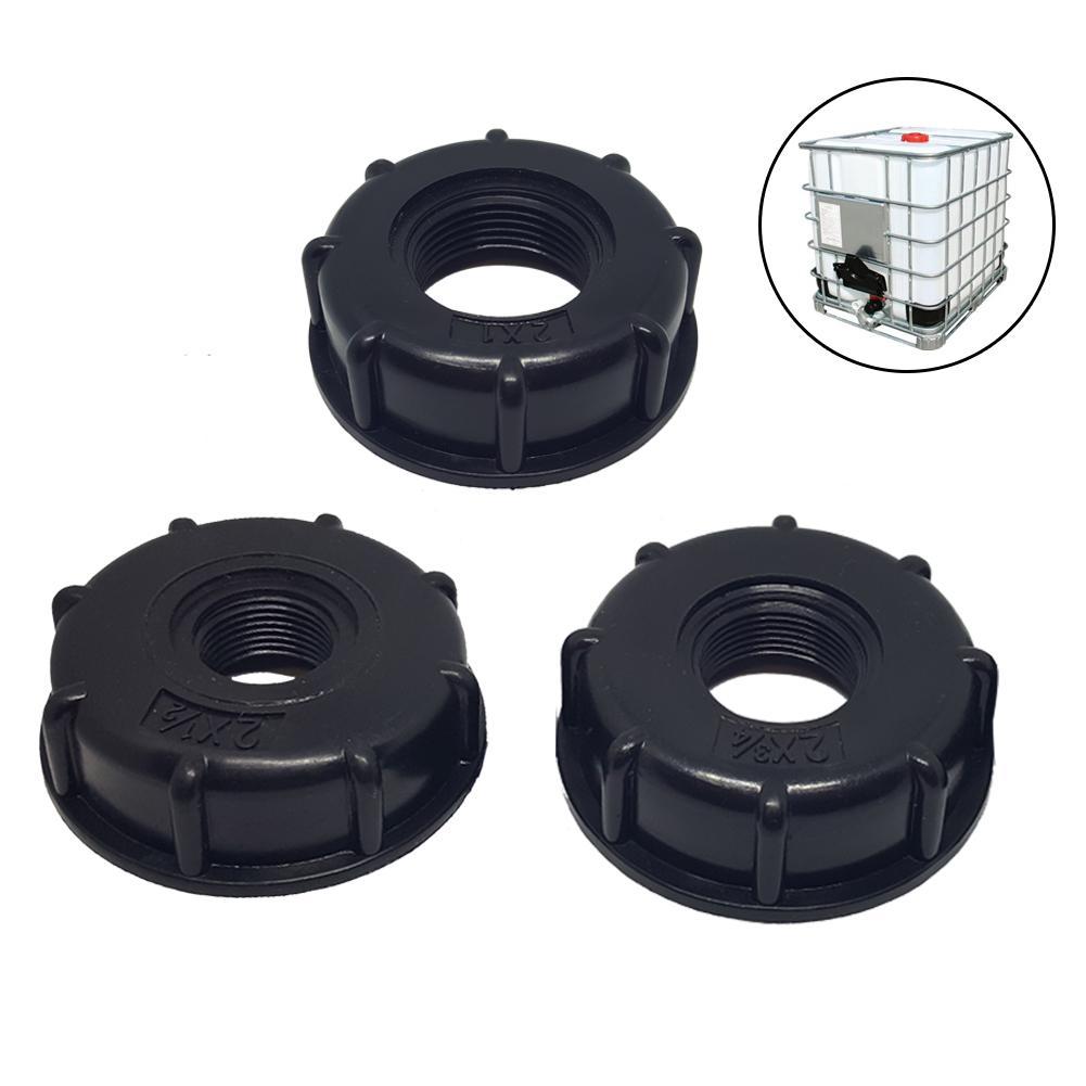 "IBC Tote Tank Food Grade Drain Adapter 1/2"", 3/4"", 1"" Coarse Thread 60mm Hose Faucet Valve(China)"