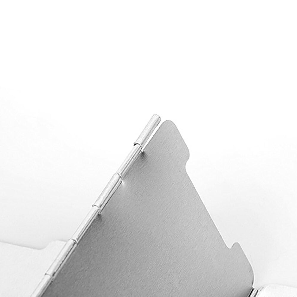 tela à prova vento liga alumínio ao ar livre escudo vento