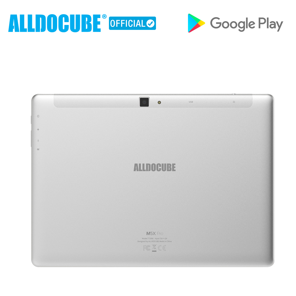 Image 5 - ALLDOCUBE M5X Pro 10.1 Android 8.0 Tablet PC MTK X27 10 core 4G Phone Call Tablets 4GB RAM 128GB ROM Dual WIFI 2560*1600 IPSTablets   -