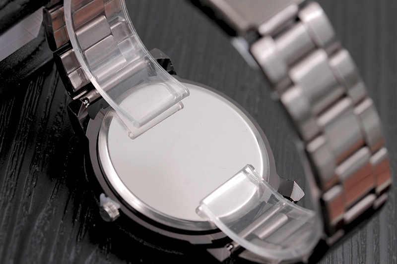2019 nouvelle offre spéciale de luxe mode Sport boussole montre en acier inoxydable armée militaire homme femme décontracté Quartz analogique montre-bracelet
