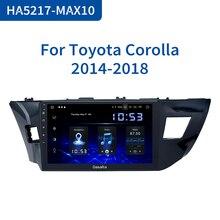 """Dasaita 10,2 """"Мультимедиа автомобиль Android 10,0 для Toyota Corolla 2014 2015 2016 TDA7850 мульти сенсорный экран HDMI 4 Гб RAM"""
