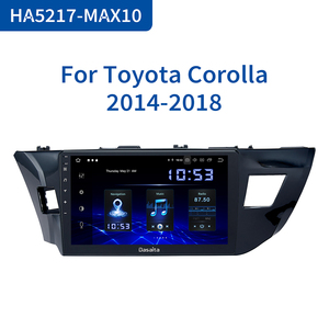 """Image 1 - Dasaita 10.2 """"Multimedia Dellautomobile Android 10.0 per Toyota Corolla 2014 2015 2016 TDA7850 Multi Schermo di Tocco HDMI 4GB di RAM"""