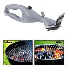 Нержавеющая сталь, щетка для чистки барбекю, для улицы, барбекю, гриль, щетка для чистки Гриля и барбекю, паровые принадлежности для барбекю, инструменты для приготовления пищи