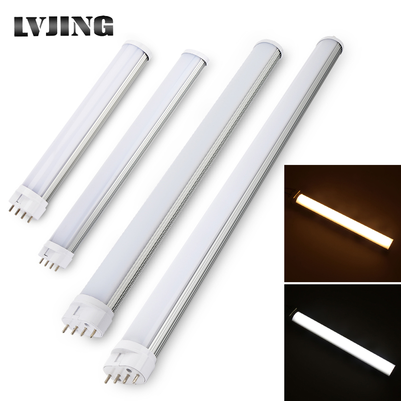 2G11 Led Tube Light Lamp Bar 4pin Epistar SMD 12W 15W 18W 25W AC85-265V Cold White Warm White For Home Office Indoor Room Grrage