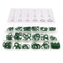 270pcs/lot Rubber Insulation Gasket Washer Seals Automobile Air Conditioner Compressor Seal Ring O Ring Repair Box