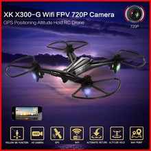 New Arrival RC Dron XK X300-G Wifi FPV 720P Camera GPS Positioning Altitude Hold RC Drone Quadcopter Remote Control Helicopter hubsan x4 h502e rc drone dron 720p camera gps altitude mode rc quadcopter drones gps rtf mode switch remote control toys copters