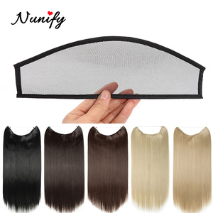 Nunify Invisible Hairnet For Hair Chrysanthemum Clip Hair Net Lace Wig Cap Base Swiss Net For Making Lace Wig For Women Girls(China)