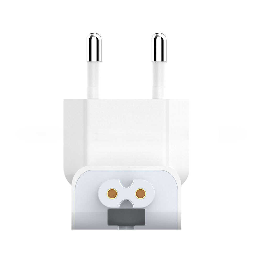 Otentik Power Charger Uni Eropa Adaptor Steker Dinding Supply untuk Apple MacBook Pro Air iPad Aksesori