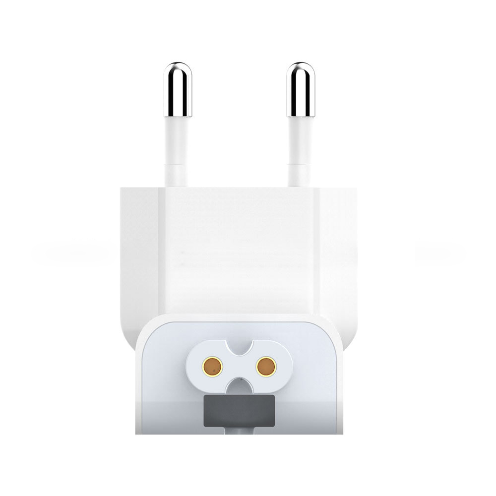 For Apple MacBook Pro Air IPad Accessory Authentic Power Charger EU Wall Plug Adapter Supply Duck Plug