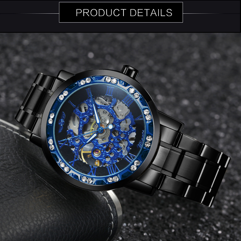 Hf38025ecdf0f465eb106a3402dbb5239P WINNER Fashion Business Mechanical Mens Watches Top Brand Luxury Skeleton Dial Crystal Iced Out Wristwatch Hot Sale Clock 2019